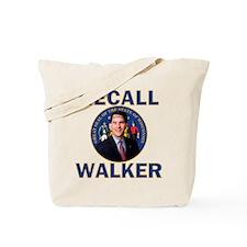 Recall Scott Walker Tote Bag