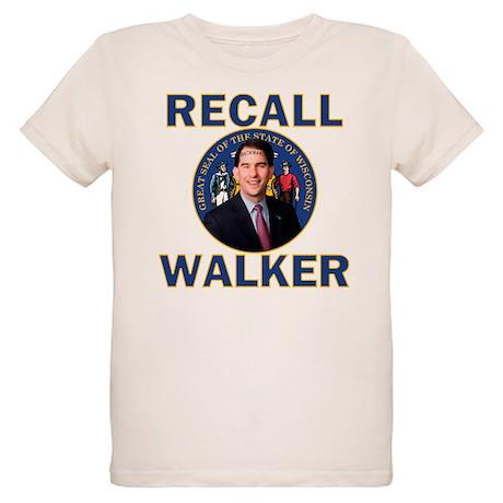 Recall Scott Walker Organic Kids T-Shirt