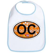 Ocean City NJ - Oval Design Bib
