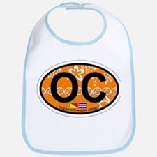 Ocean City NJ - Oval Design Bib