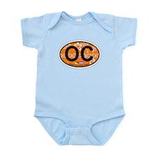Ocean City NJ - Oval Design Infant Bodysuit