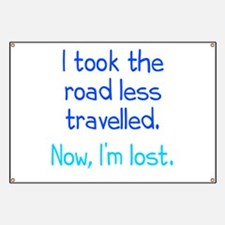 Road Less Travelled Banner
