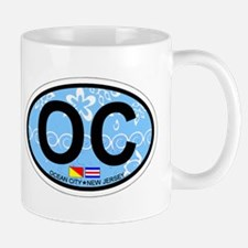Ocean City NJ - Oval Design Mug