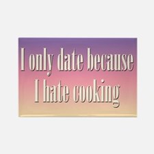 Cooking Date Rectangle Magnet