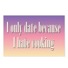 Cooking Date Postcards (Package of 8)