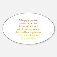 Happy Person Decal