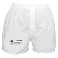 Cute Ebola virus Boxer Shorts