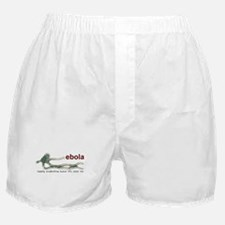 Cute Ebola virus Boxer Shorts
