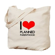 I Heart Planned Parenthood Tote Bag