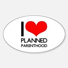 I Heart Planned Parenthood Decal