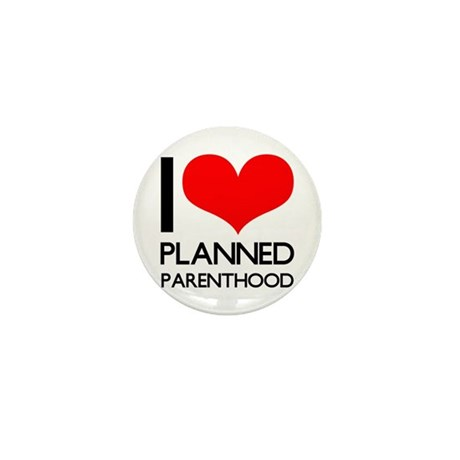 I Heart Planned Parenthood Mini Button (10 pack)