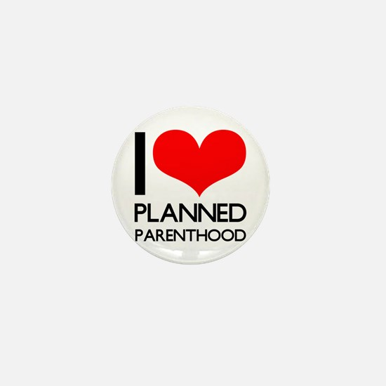 I Heart Planned Parenthood Mini Button