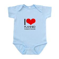 I Heart Planned Parenthood Infant Bodysuit