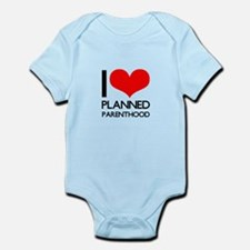 I Heart Planned Parenthood Infant Bodysuit