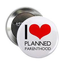 "I Heart Planned Parenthood 2.25"" Button"