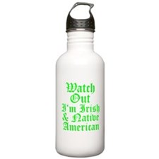 IRISH NATIVE AMERICAN Water Bottle