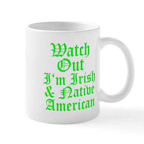 IRISH NATIVE AMERICAN Mug