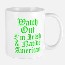 IRISH NATIVE AMERICAN Mug