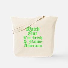 IRISH NATIVE AMERICAN Tote Bag