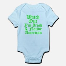 IRISH NATIVE AMERICAN Infant Bodysuit