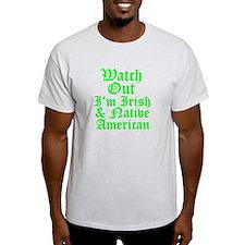 IRISH NATIVE AMERICAN T-Shirt