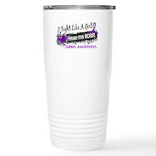 Fight Like A Girl Lupus Travel Mug