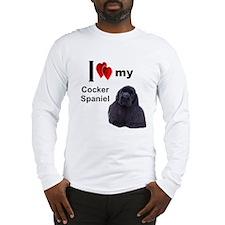 Cute Cocker spaniel Long Sleeve T-Shirt