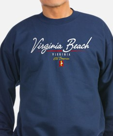 Virginia Beach Script Sweatshirt