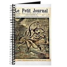 Deep Sea Diver VS. Octopus Journal