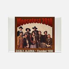 Moosefest 2010 Rectangle Magnet