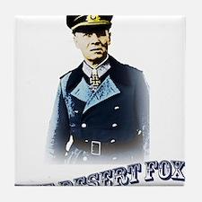 Erwin Rommel Tile Coaster
