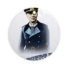 Erwin Rommel Ornament (Round)