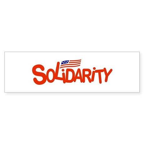 Solidarity Sticker (Bumper 10 pk)