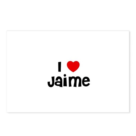 I * Jaime Postcards (Package of 8)
