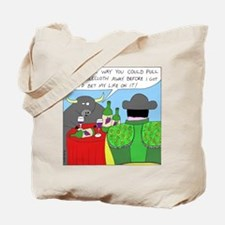 How It All Started (No Text) Tote Bag