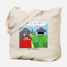 How It All Started Tote Bag