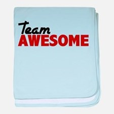 Team Awesome baby blanket