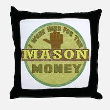 Stone Mason Throw Pillow