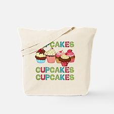 Cupcakes Cupcakes Cupcakes Tote Bag