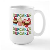 Cupcake Large Mugs (15 oz)