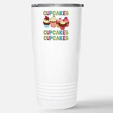 Cupcakes Cupcakes Cupcakes Travel Mug