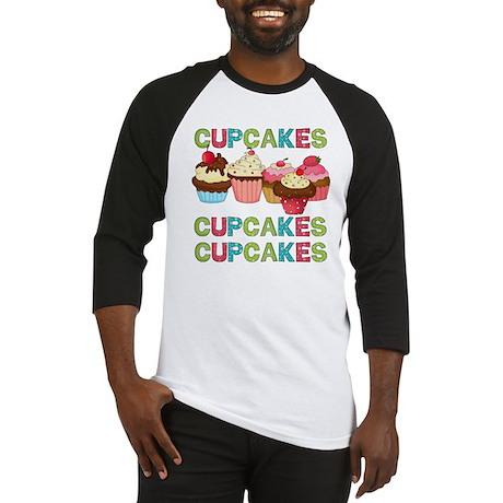 Cupcakes Cupcakes Cupcakes Baseball Jersey