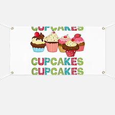 Cupcakes Cupcakes Cupcakes Banner