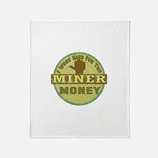 Miner Throw Blanket
