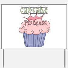 Cupcake Princess Yard Sign
