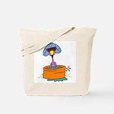 Flamingo in Pool Tote Bag