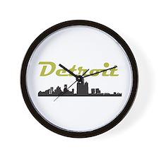 Detroit Girl - Simply, Detroi Wall Clock