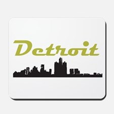 Detroit Girl - Simply, Detroi Mousepad