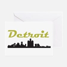 Detroit Girl - Simply, Detroit Greeting Card