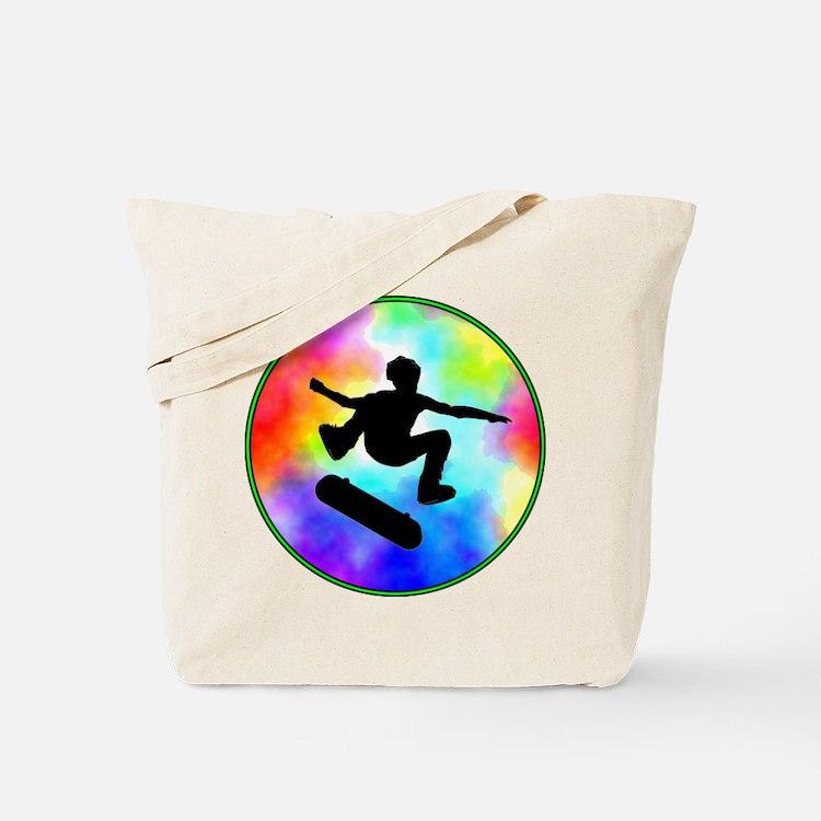 Tie Dye Skater Tote Bag